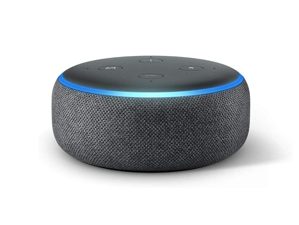 Echo Dot de 3e génération (Amazon Alexa) à 24,99 euros