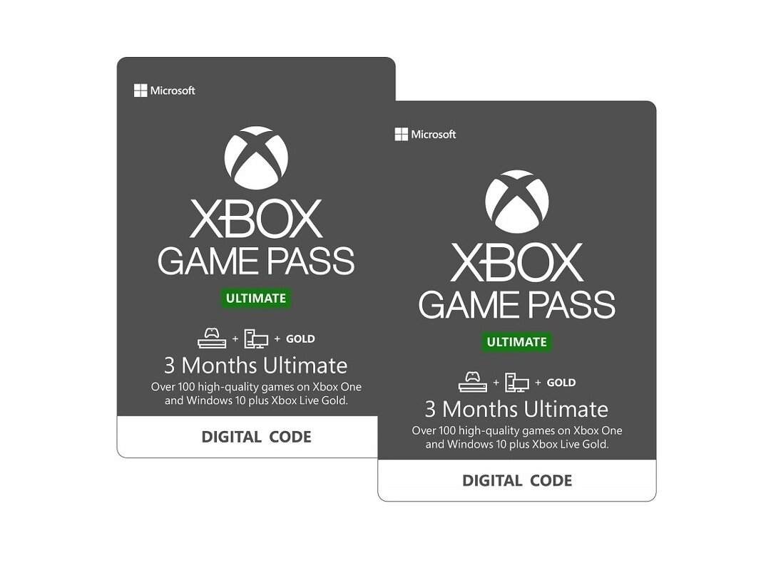 Six mois d'abonnement Xbox Game Pass Ultimate à 38,99 euros