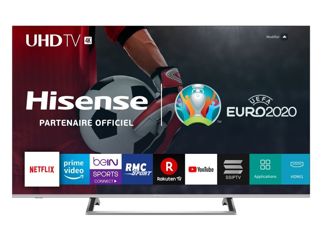 "Smart TV 65"" Hisense H65BE7200 (4K UHD) : 499,99 €"