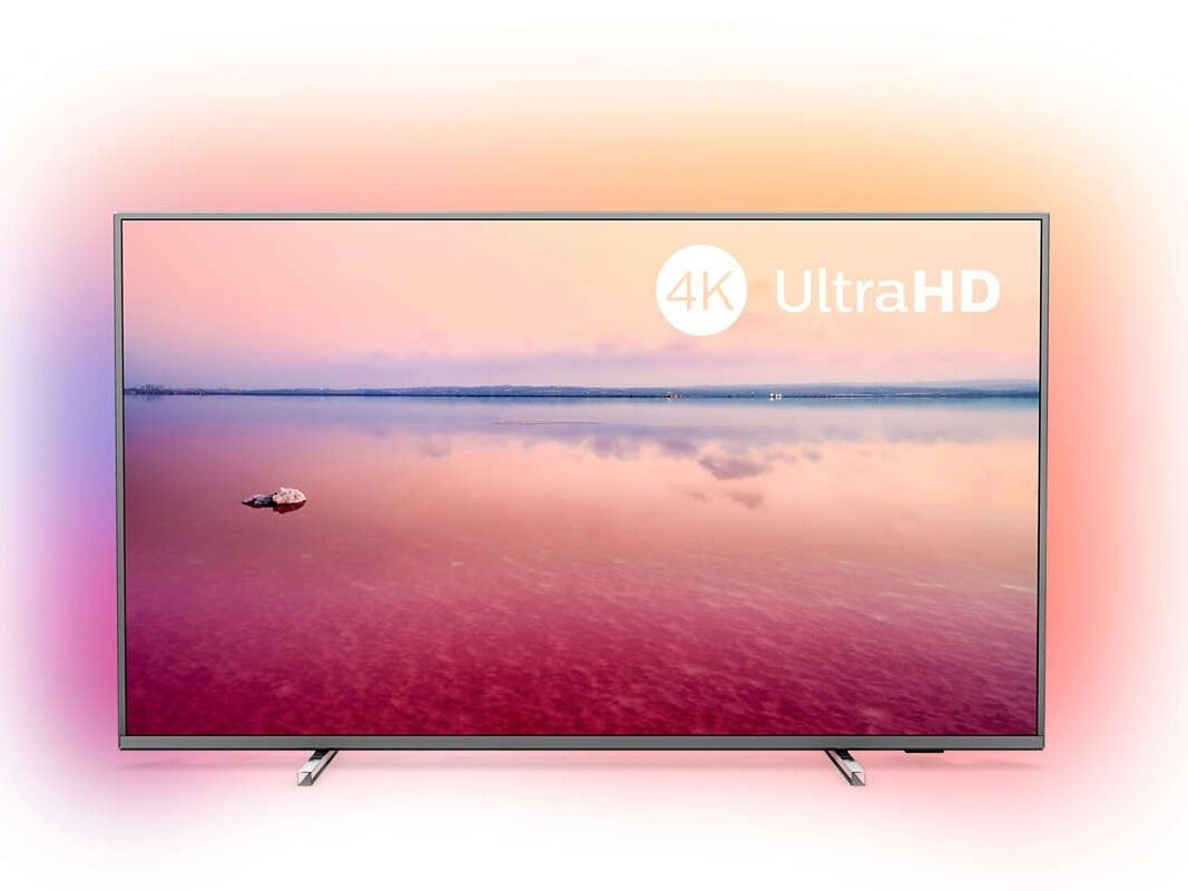 "Smart TV 4K UHD Ambilight Philips de 55"" (HDR) à 504,33 euros"