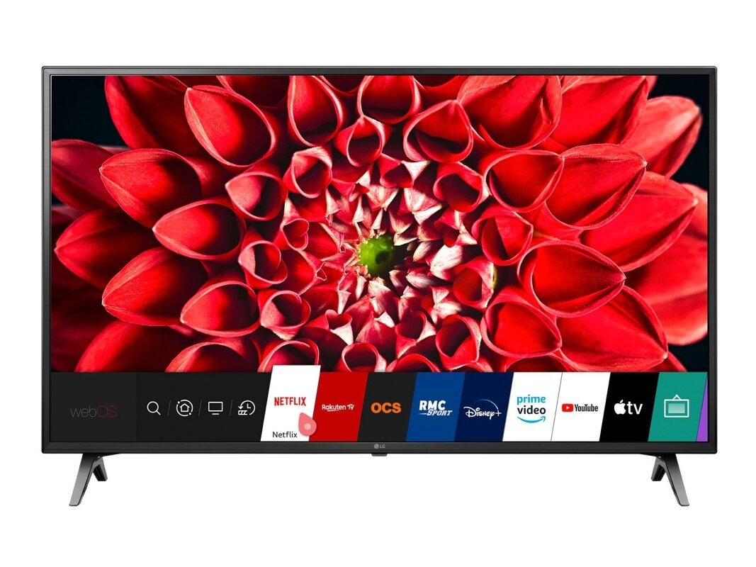 "Smart TV 4K UHD LG 55UN7100 de 55"" (HDR) : 499 €"