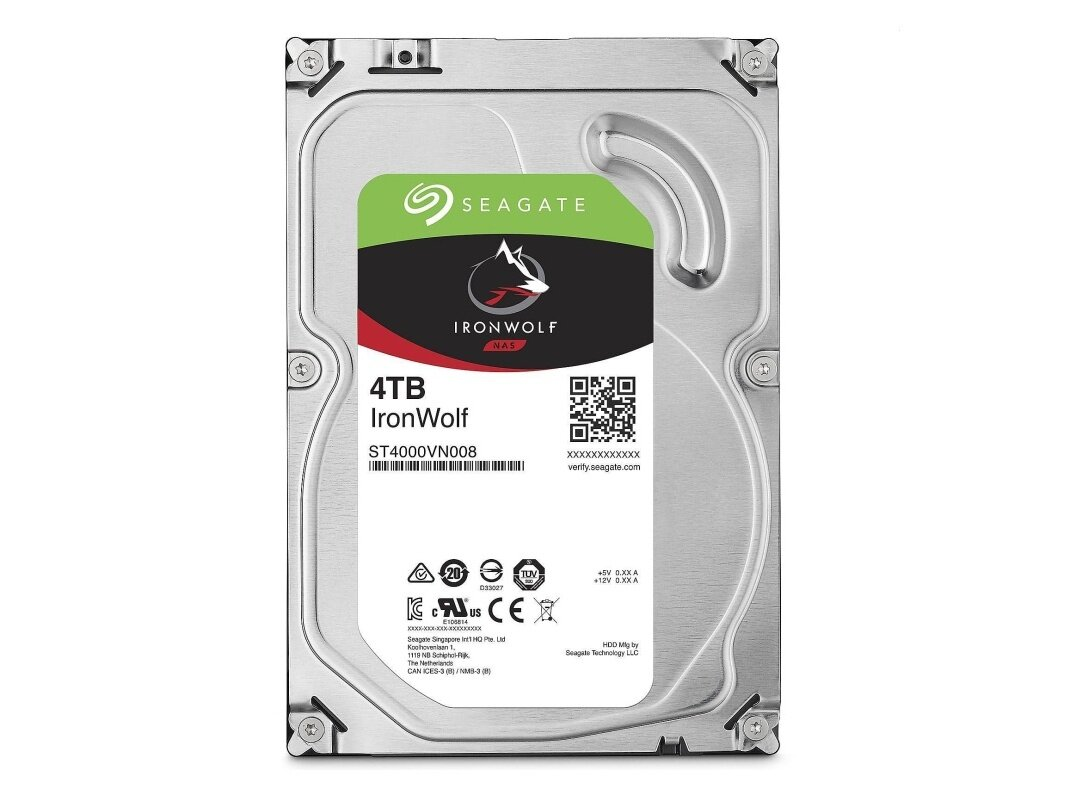 Disque dur Seagate IronWolf de 4 To à 103,90 euros