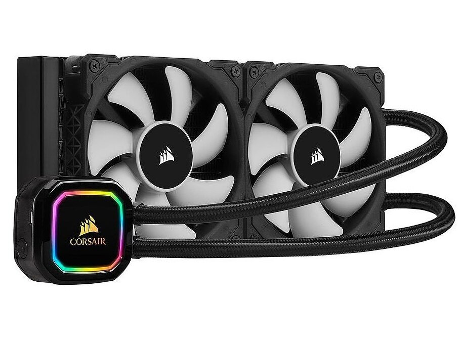 AIO Corsair Hydro Series H100i RGB Pro XT (240mm) à 93,99 euros #BlackFriday