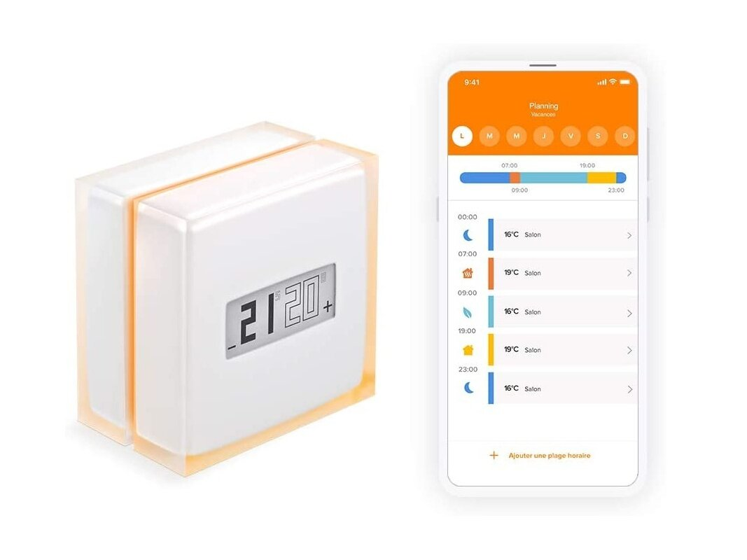 Un thermostat connecté Netatmo : 119,99 euros