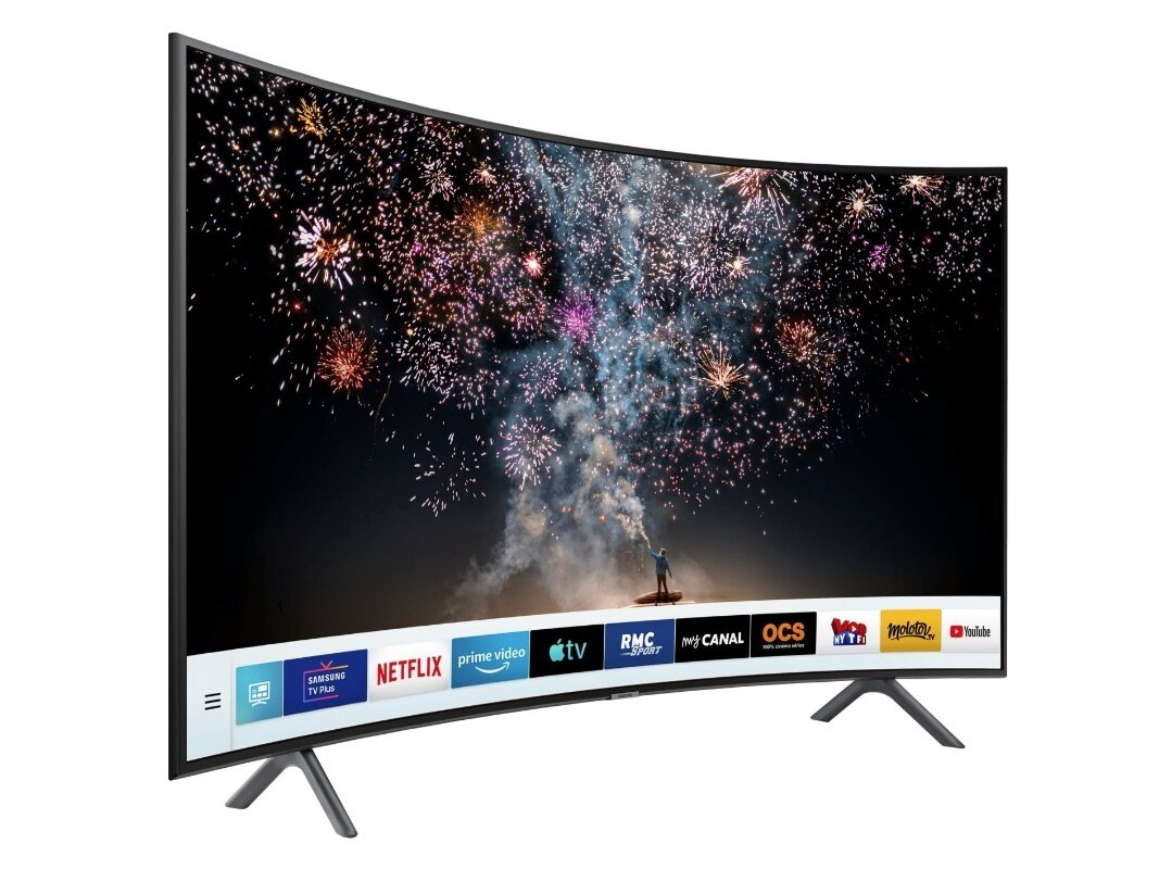 "Smart TV incurvée 49"" Samsung UE49RU7372 (UHD 4K) : 399,99 € #BlackFriday"