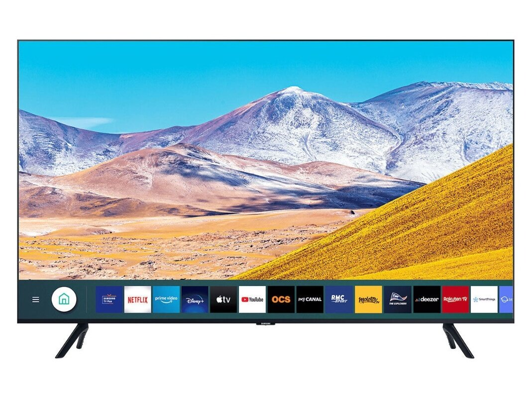 "Smart TV 55"" Samsung 55TU8075 (4K UHD) à 569 euros"