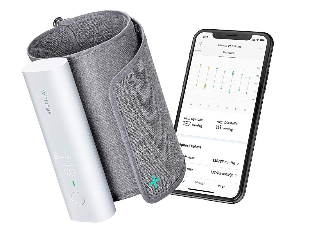 Tensiomètre Withings Bpm Connect : 74,95 euros