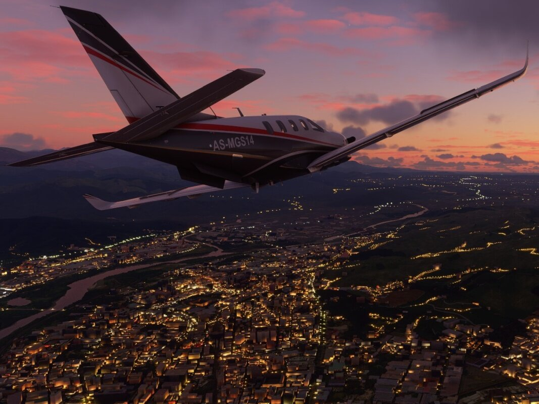 Microsoft Flight Simulator (10 DVD) à 54,99 euros