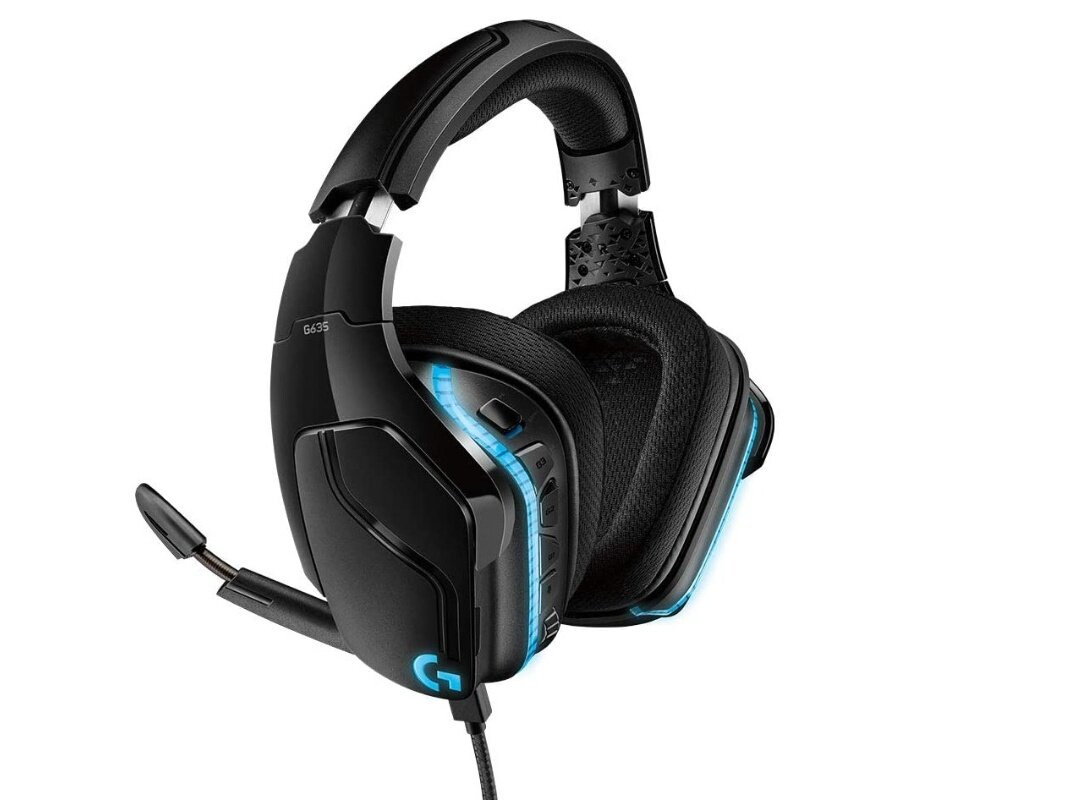 Casque micro Logitech G635 (DTS Headphone:X, LightSync RGB) pour 79,99 euros