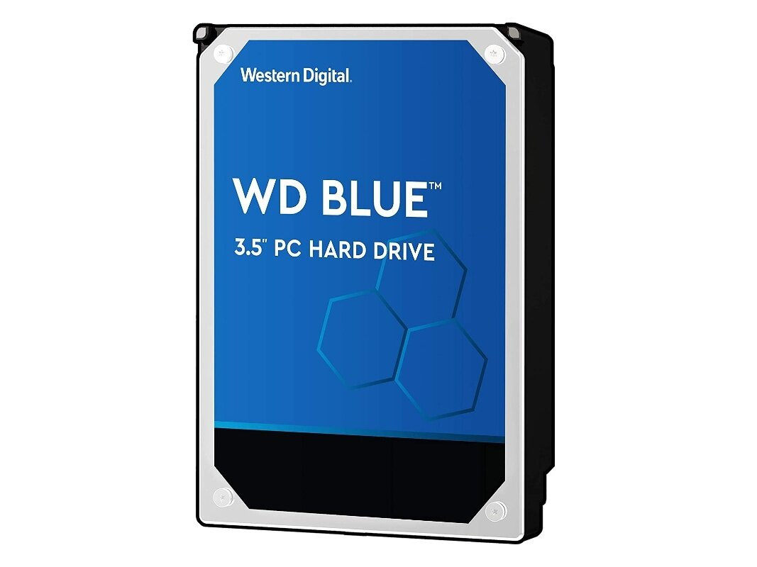 "Disque dur WD Blue 3,5"" de 1 To (7 200 tpm) : 35,99 €"