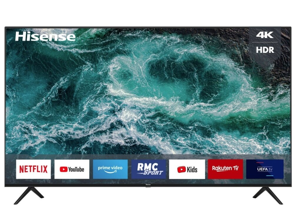 "Smart TV 70"" Hisense 70A7100F (4K UHD) : 549 € via une ODR"