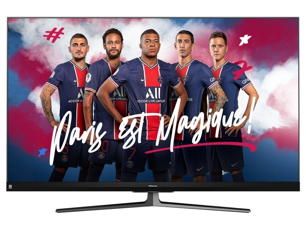 "Smart TV 55"" Hisense 55U82QF (QLED, 100 Hz ) à 599 euros via une ODR"