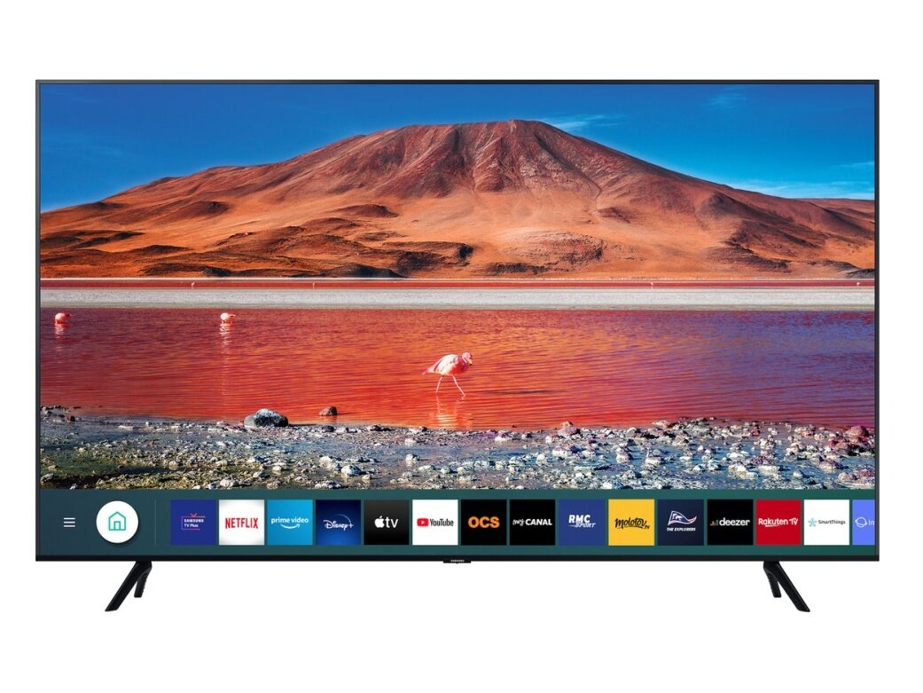 "Smart TV 55"" Samsung 55TU7172 (UHD 4K) à 439,99 euros"