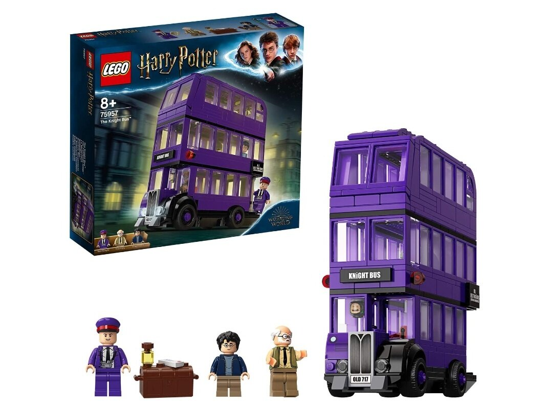 Set Lego Harry Potter Le Magicobus à 26,23 euros via un coupon