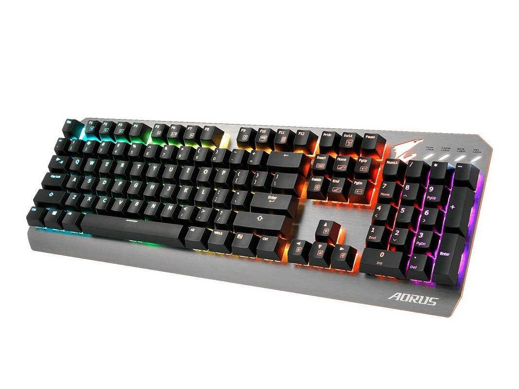 Clavier mécanique Aorus K7 (switchs MX Red) à 69,99 euros