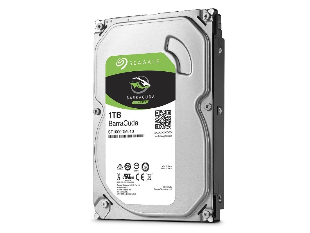 "Disque dur Seagate Barracuda de 1 To (3,5"", 7 200 tpm) : 39,99 €"