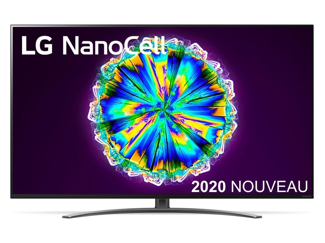 "Smart TV 65"" LG NanoCell 65NANO86 (UHD 4K, 100 Hz, HDMI 2.1) à 999 euros"