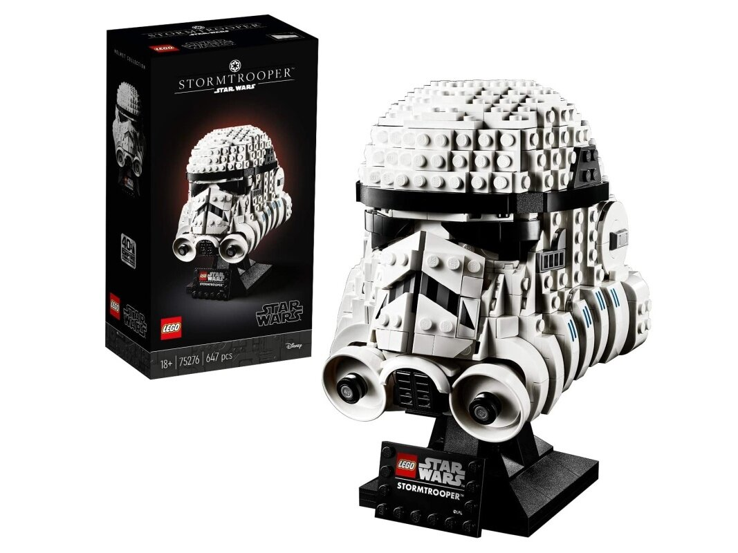 Set Lego Star Wars Casque de Stormtrooper à 49,43 euros