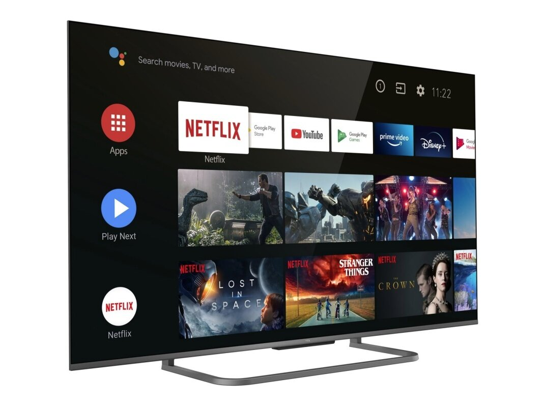 "Android TV 55"" TCL 55P818 (UHD 4K, Dolby-Atmos) à 494,10 euros via une ODR"
