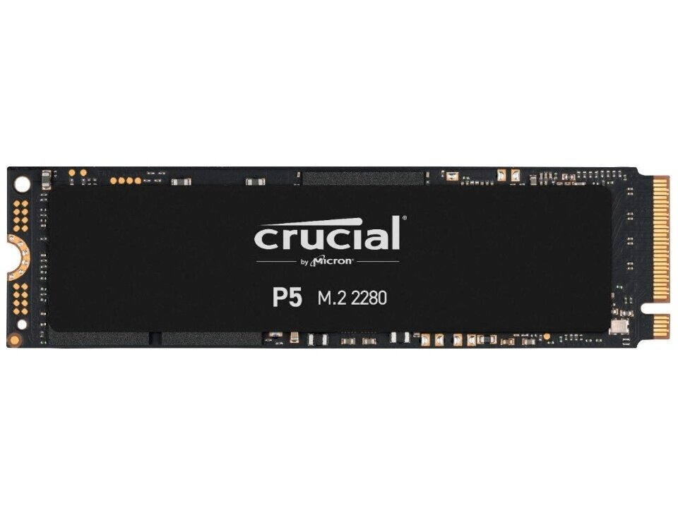 SSD M.2 Crucial 2 To P5 (NVMe, 3,4 Go/s) à 247,99 euros