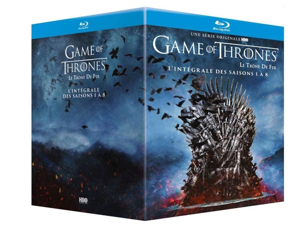 Intégrale des 8 saisons de Game Of Thrones en Blu-ray à 60 euros