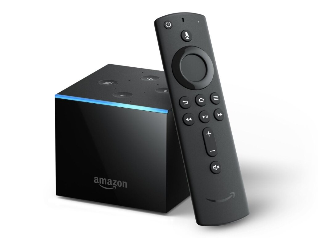 Box multimédia Amazon Fire TV Cube à 89,99 euros