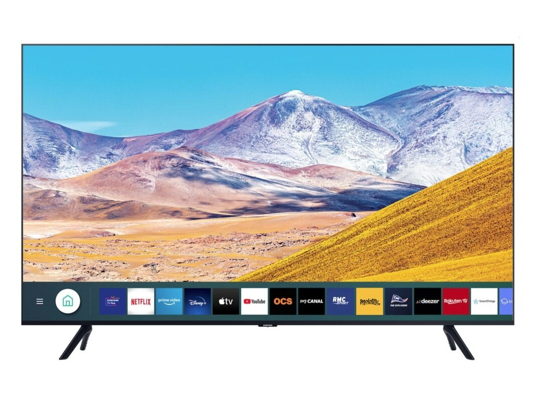 "Smart TV 50"" Samsung 50TU8005 (UHD 4K) à 499 euros"