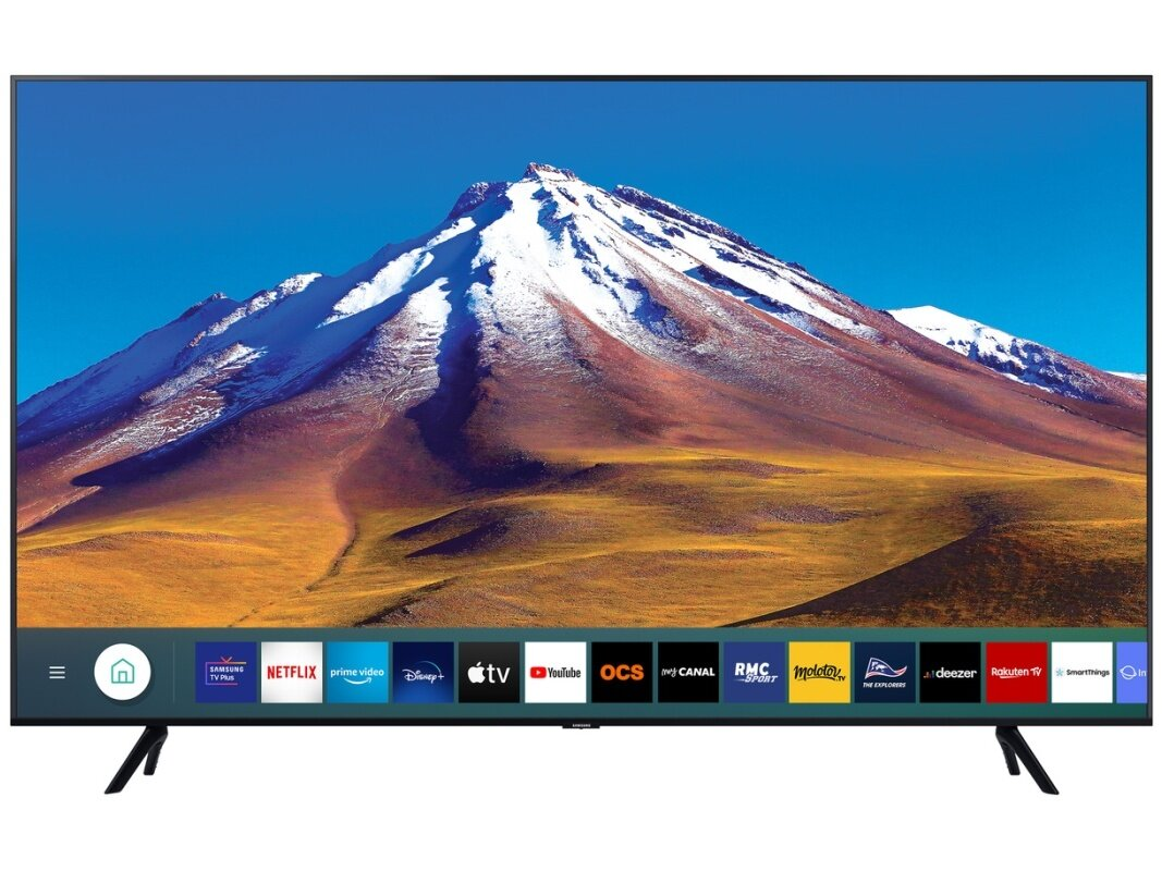 "Smart TV Samsung 65TU6905 de 65"" (4K UHD) : 599 euros"