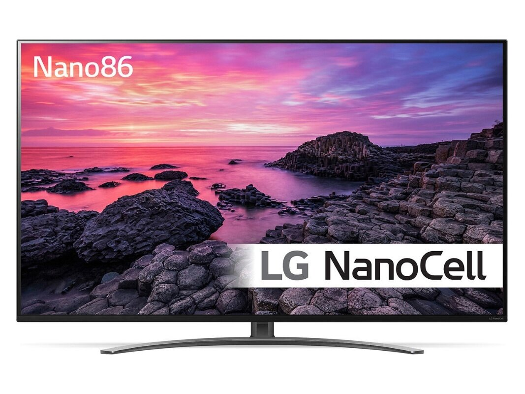 "Smart TV 49"" LG NanoCell 49NANO86 (UHD 4K, 100 Hz, HDMI 2.1) à 599,99 euros"