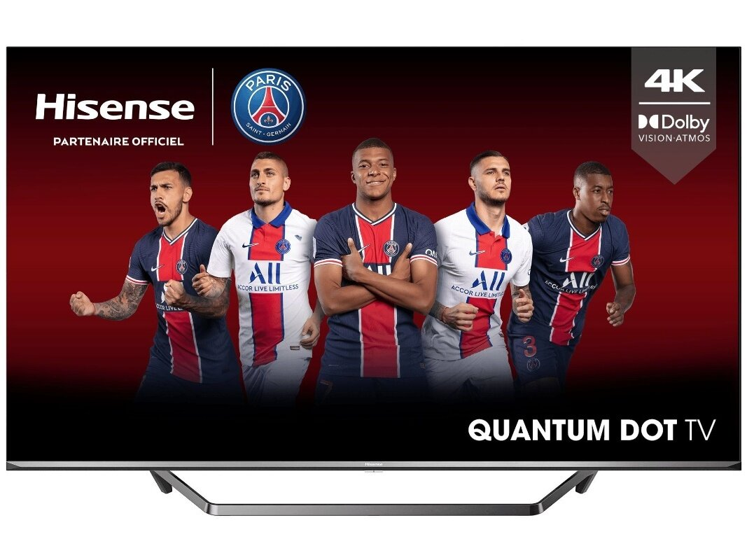 "Smart TV 55"" Hisense 50U72QF (QLED) à 399 euros via une ODR"