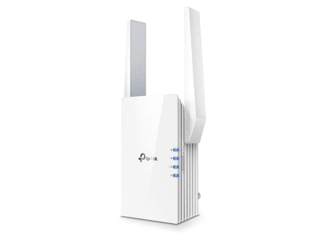 Répéteur Wi-Fi 6 TP-Link RE505X (1,5 Gb/s, Ethernet Gigabit) : 59,99 €
