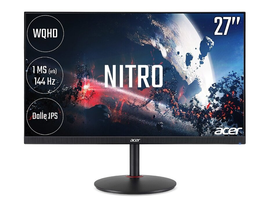 "Ecran 27"" Acer Nitro XV272UP (dalle IPS, 144 Hz, 2560x1440) à 299,99 euros"