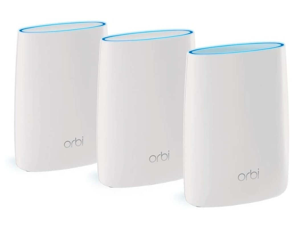Kit Wi-Fi Orbi RBK53 (1 routeur, 2 satellites) à 384,99 euros
