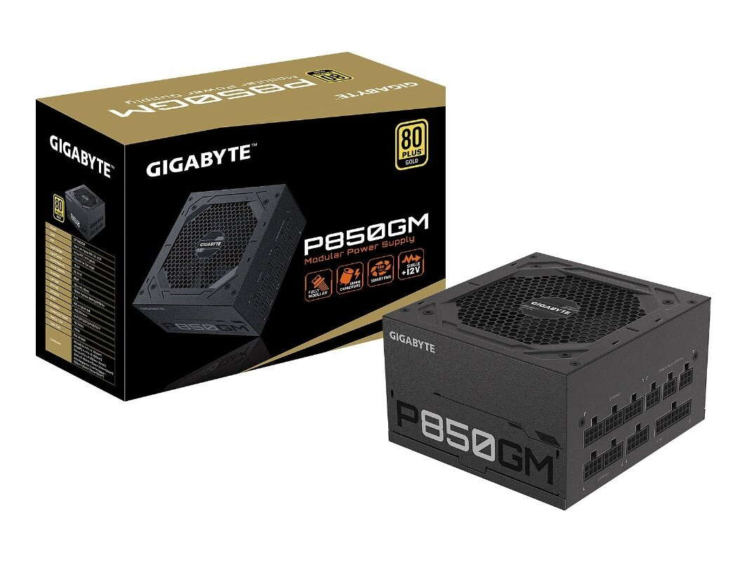 Alimentation Gigabyte GP-P850GM de 850 W (80Plus Gold) à 94,90 euros