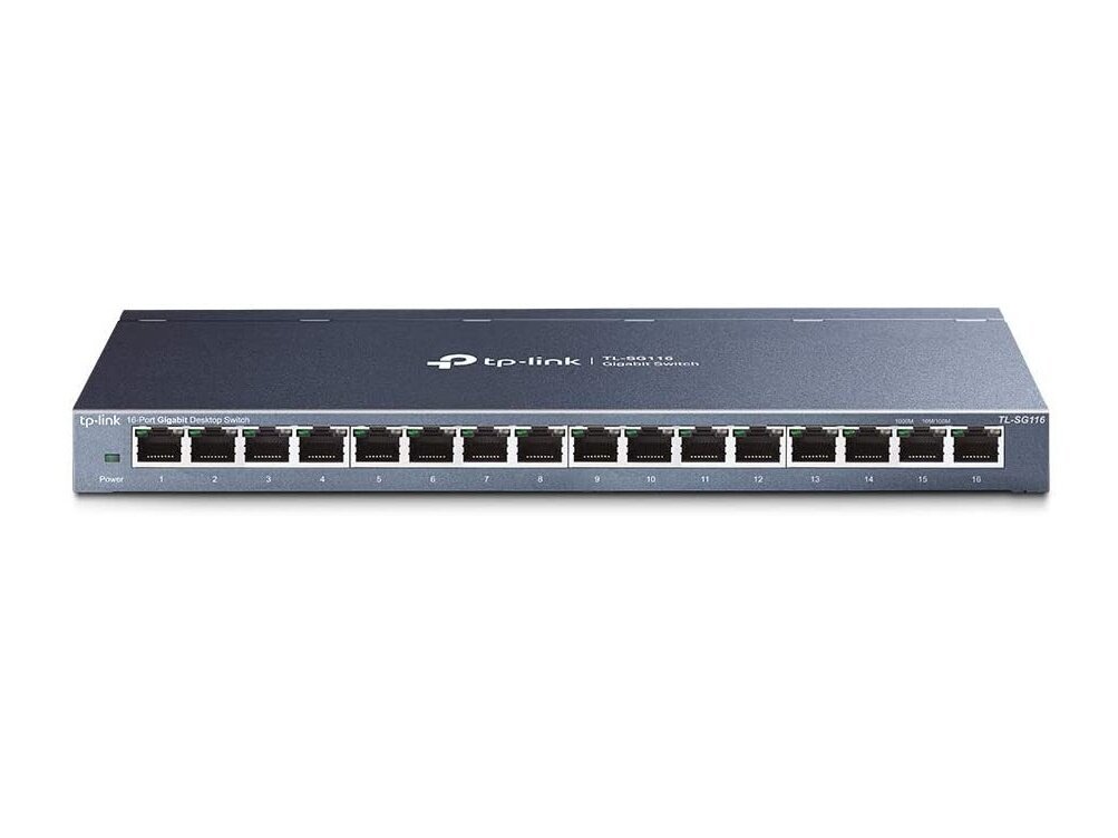 Switch TP-Link avec 16 ports Gigabit : 44,90 euros