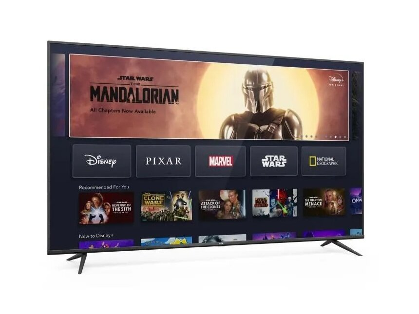 "Android TV 70"" TCL 70BP600 (4K UHD) : 599,59 euros"