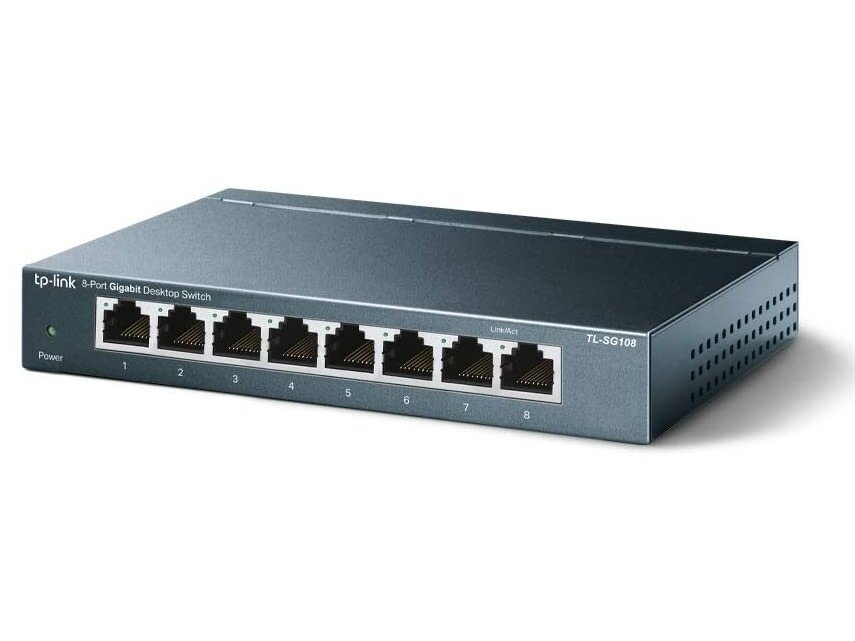 Switch TP-Link avec 8 ports Gigabit : 18,90 euros