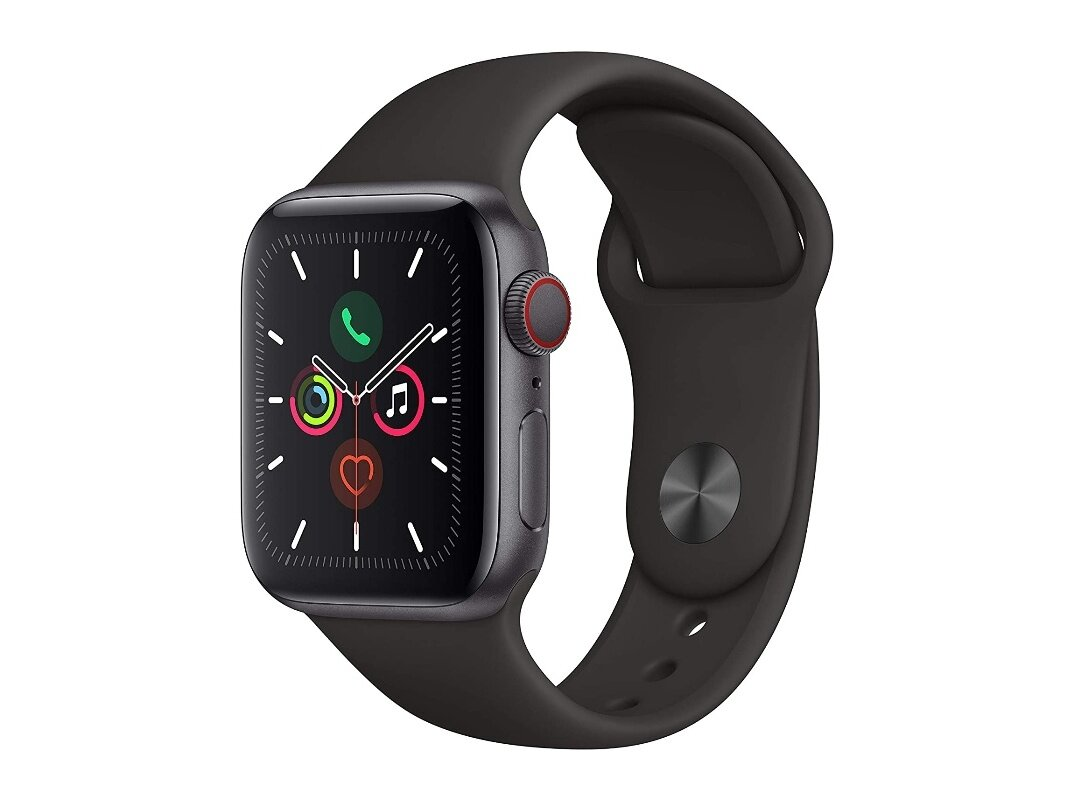 Apple Watch Series 5 (40 mm, Cellular) à 349 euros