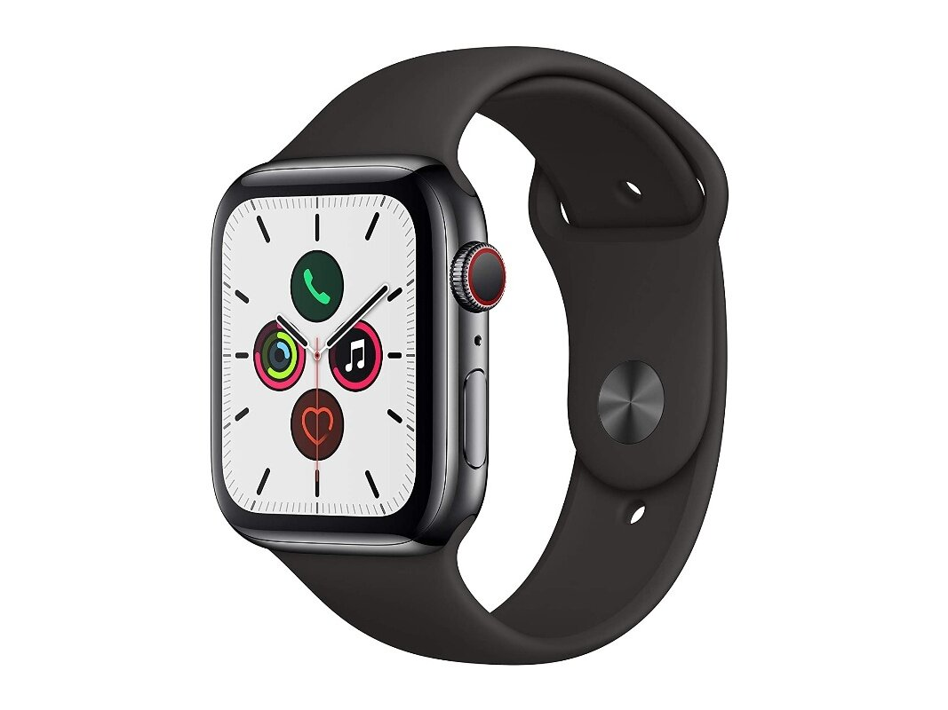 Apple Watch Series 5 (44 mm, Cellular) à 399 euros