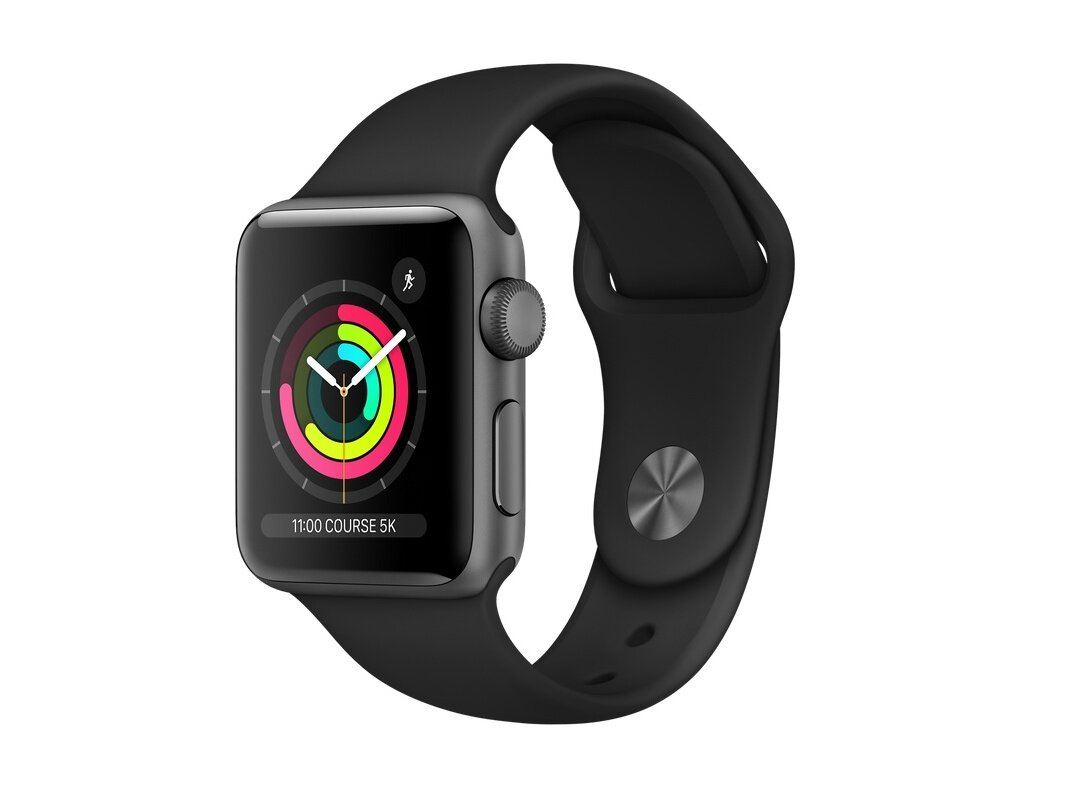 Une Apple Watch Series 3 Cellular (42 mm) à 219 euros