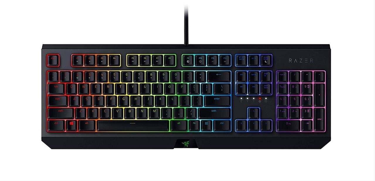Clavier mécanique Razer Blackwidow à 89,99 euros