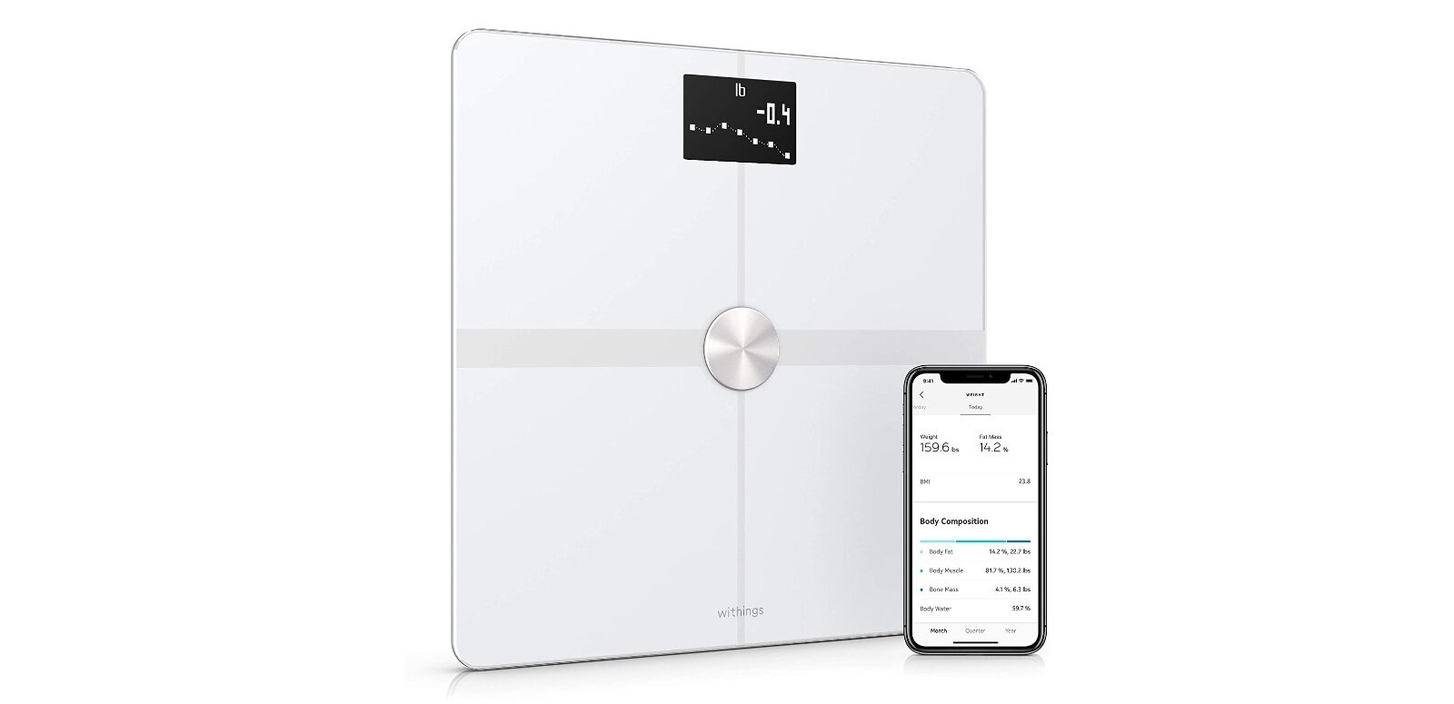 Balance connectée Withings Body+ : 74,99 euros