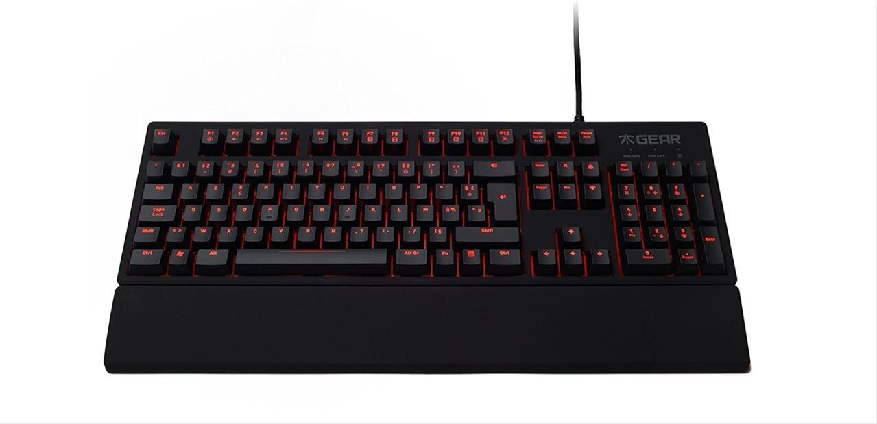 Clavier mécanique Fnatic Gear Rush (Cherry MX Red ou Brown) à 59,99 euros