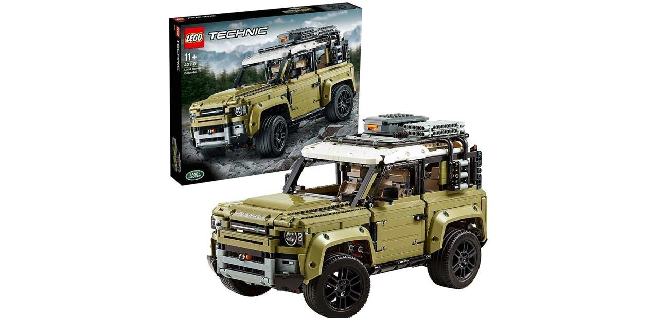 Set Lego Technic Land Rover Defender à 127,49 euros via un coupon