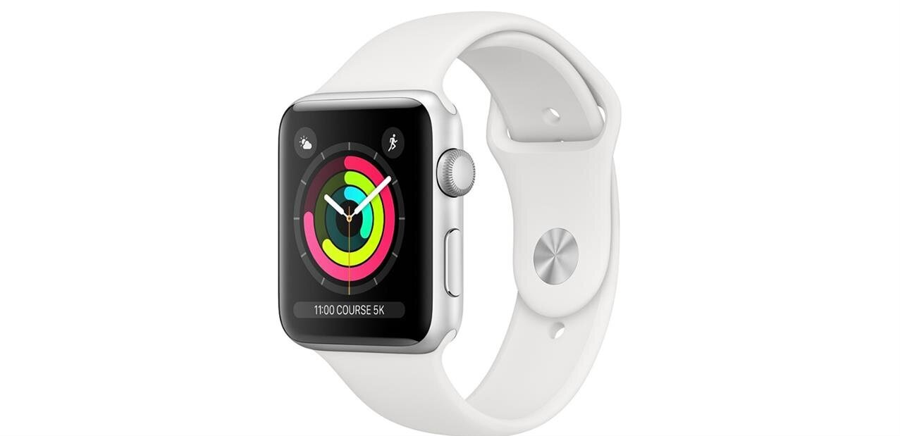 Une Apple Watch Series 3 (42 mm) à 229,99 euros